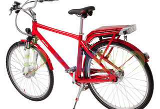 Электровелосипед Ducati City King - стильный и легкий