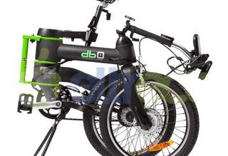 Электровелосипед ELTRECO db0-3 с складной рамой