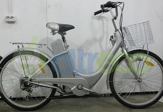 Электровелосипед Eltreco Green City Azimut runner - главный на дороге