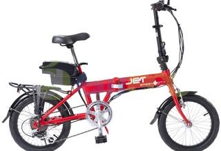 Электровелосипед eltreco Green City Jet - стильный и красочный дизай