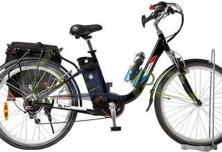 Электровелосипед Eltreco Green City Provence Plus - миниатюрная роскошь