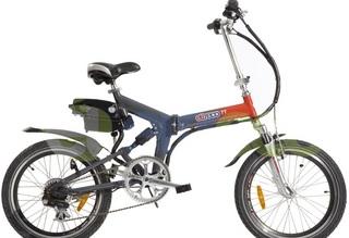 Компактный и удобный Электровелосипед Eltreco TT