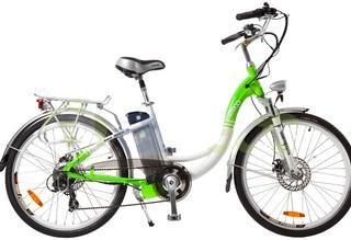 Электровелосипед Eltreco White - для хорошей формы