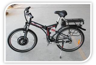 Электровелосипед CROSS RACK 500W - незаменим для гор и подъемов