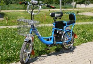Электровелосипед MJ-TDS-XTS без возрастных ограничений