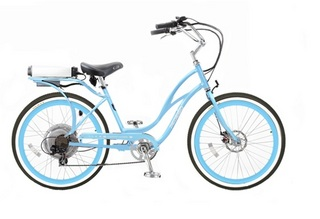 Электровелосипед Pedego Step Thru Comfort Cruiser - транспорт для всей семьи
