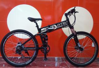 Электровелосипед VOLTECO INTRO 500W - сталь в сочетании с алюминием