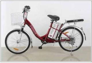 Электровелосипед модель VS-302 - современный и спортивный