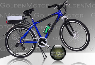 Электровелосипед Cruz 2009 - стильная модель