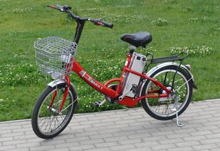 Электровелосипед MJ-TDZ-123 подходит взрослым и детям