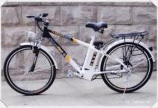 Электровелосипед РВ-108 располагает подпружиненным седлом