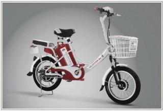 Электровелосипед VS-206 обладает маневренностью и быстро набирает скорость