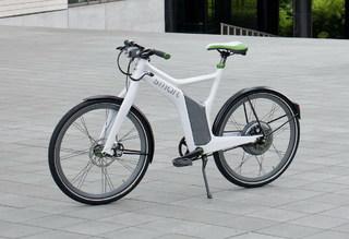 Руль на элекровелосипеде Smart Ebike небольшой