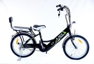Электровелосипед ECOROADSTER LICI Cooper оснащен пассажирским местом
