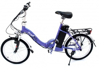 Электровелосипед ECOBIKE Swan хорошо подходит для городского цикла
