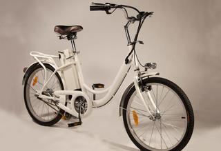 Электровелосипед ECOBAHN-602 компактен и удобен