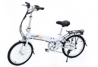 Электровелосипед ECOBIKE Storm выглядит элегантно