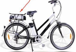 Электровелосипед LMTDF- 11L укомплектован мощной рамой
