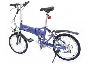 """Электровелосипед ECOBIKE Tomahawk с """"ручкой газа"""" для изменения скорости"""