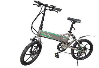 Электровелосипед Fly 500 New оснащен мощным электромотором
